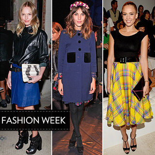 Alexa Chung, Kate Bosworth, Jessica Alba and More Celebrity Style from the Front Row at 2013 Spring New York Fashion Week