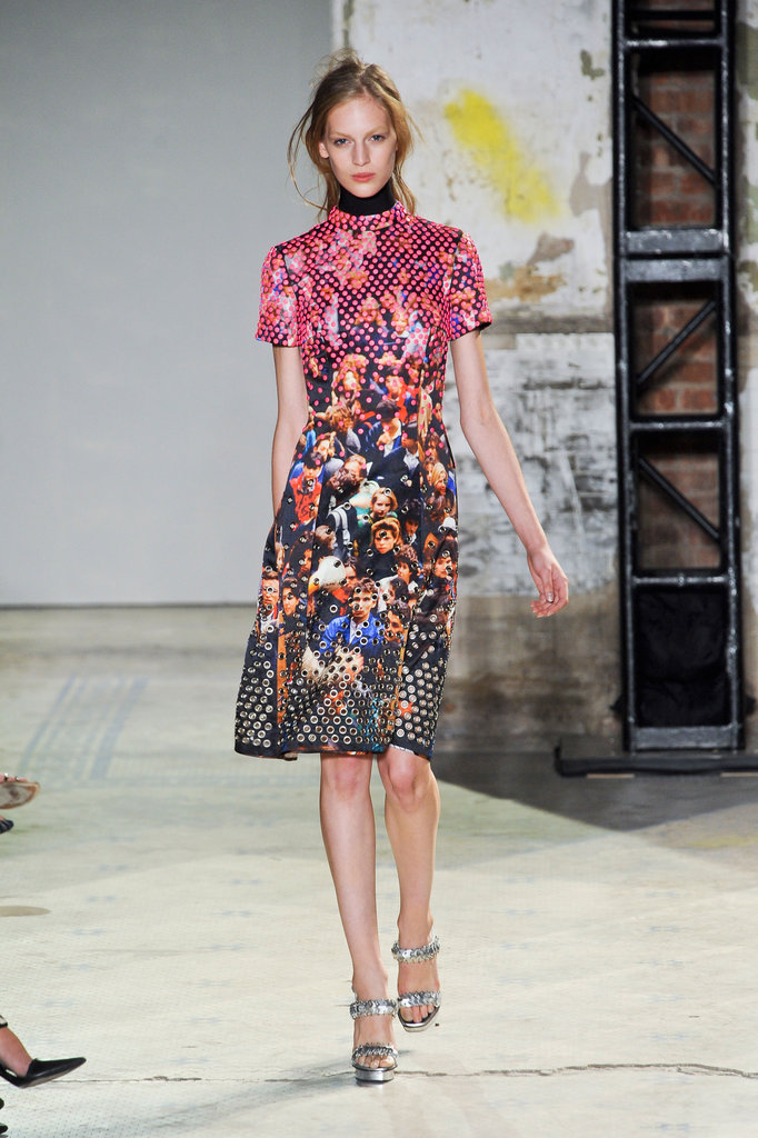 Proenza Schouler's bold yet feminine patterns are a must have for the season.