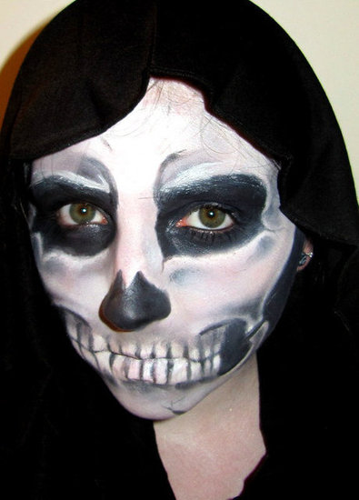 Skeleton Halloween Make Up Set