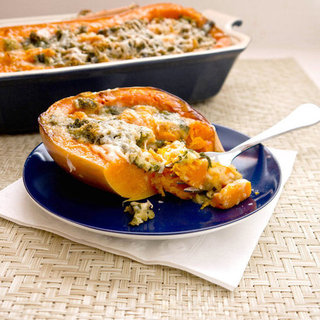 Kid-Friendly Stuffed Butternut Squash