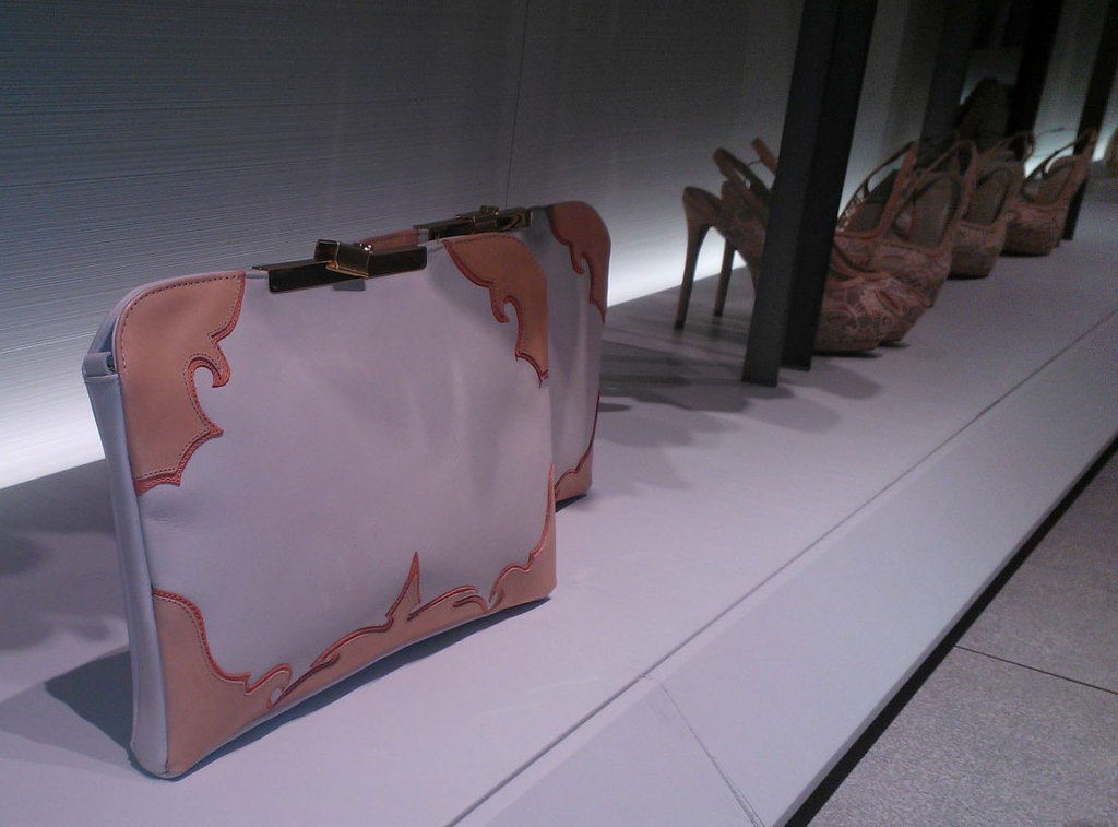 Prada-inspired clutches.