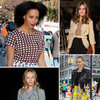 Celebrities at New York Fashion Week Spring 2013