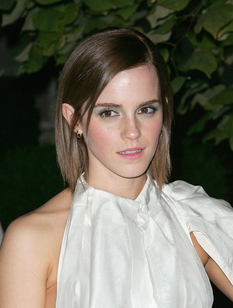 Emma Watson Goes Short to Debut Perks in NYC