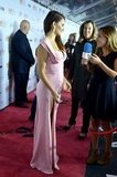 Penelope Cruz wore a pink gown.