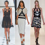 Harnesses were a present trend on the Spring runways. Will you be sporting the daring trend next year?