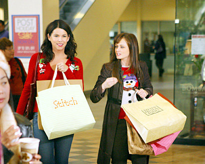 On Being Slutty Rory: You're happy. Lorelai: Yeah. Rory: . . . Did you do something slutty? Lorelai: I'm not that happy.