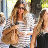 Pregnant Gisele Bundchen at Bar Pitti | Pictures