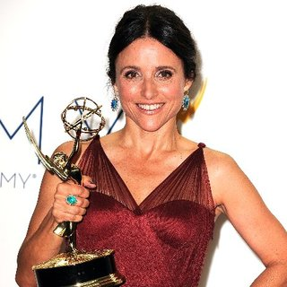 Julia Louis-Dreyfus Emmy Press Room Interview For Veep