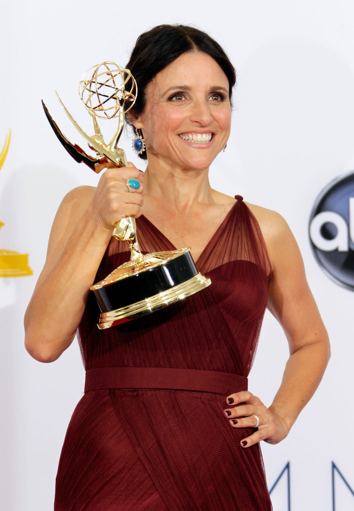 Veep's Julia Louis-Dreyfus took home the Emmy for her starring role.