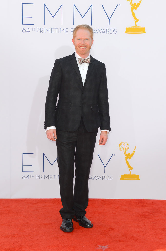 Nominee Jesse Tyler Ferguson sported a sweet bow tie at the Emmys.