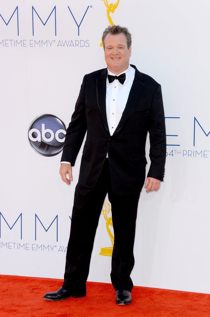 Up against three of his Modern Family costars, Eric Stonestreet won the Emmy for outstanding supporting actor in a comedy series.