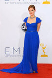 Suburgatory's Jane Levy posed at the Emmys.
