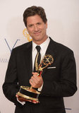 Steven Levitan — the man behind Modern Family — showed off another Emmy for the winning series.