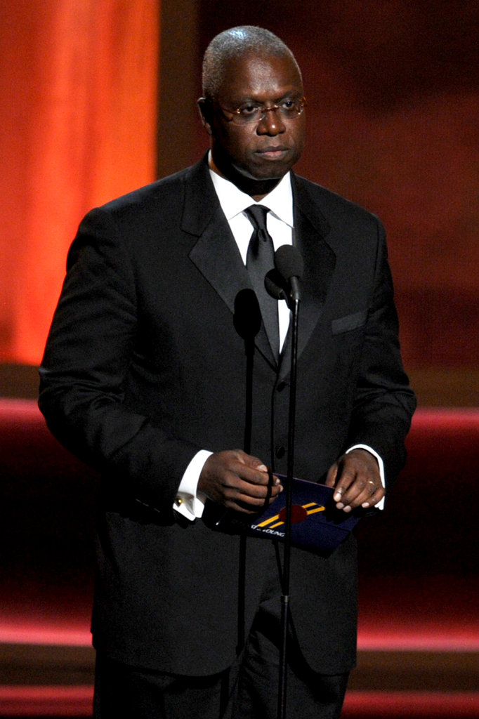 Andre Braugher presented at the Emmys.