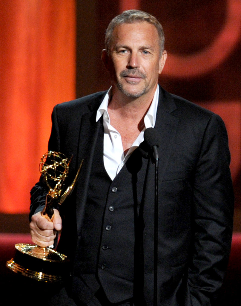 Kevin Costner won the Emmy for his role in Hatfields & McCoys.