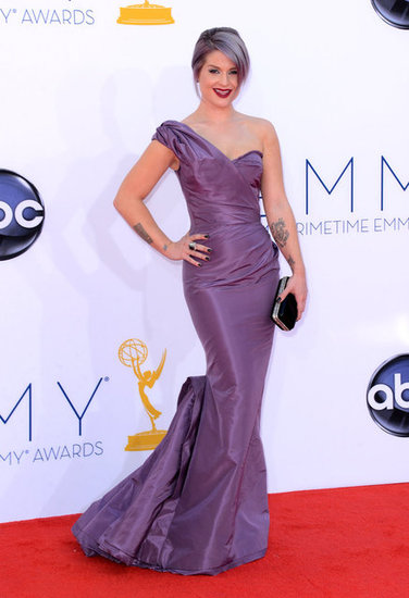 Kelly Osbourne Matches Her Gown to Her Hair at the Emmys