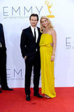 Pregnant Claire Danes Lights Up the Emmys Red Carpet in Yellow Lanvin