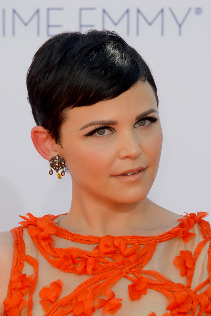 Ginnifer Goodwin rocked earrings.