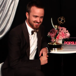Aaron Paul Talking About Emmy Win and Breaking Bad (Video)