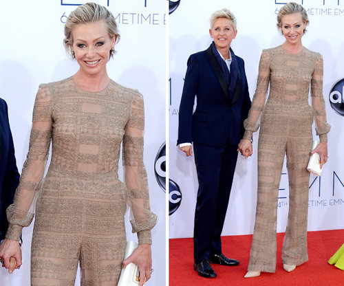 Portia de Rossi at the Emmys 2012