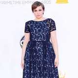 Lena Dunham at the Emmys 2012