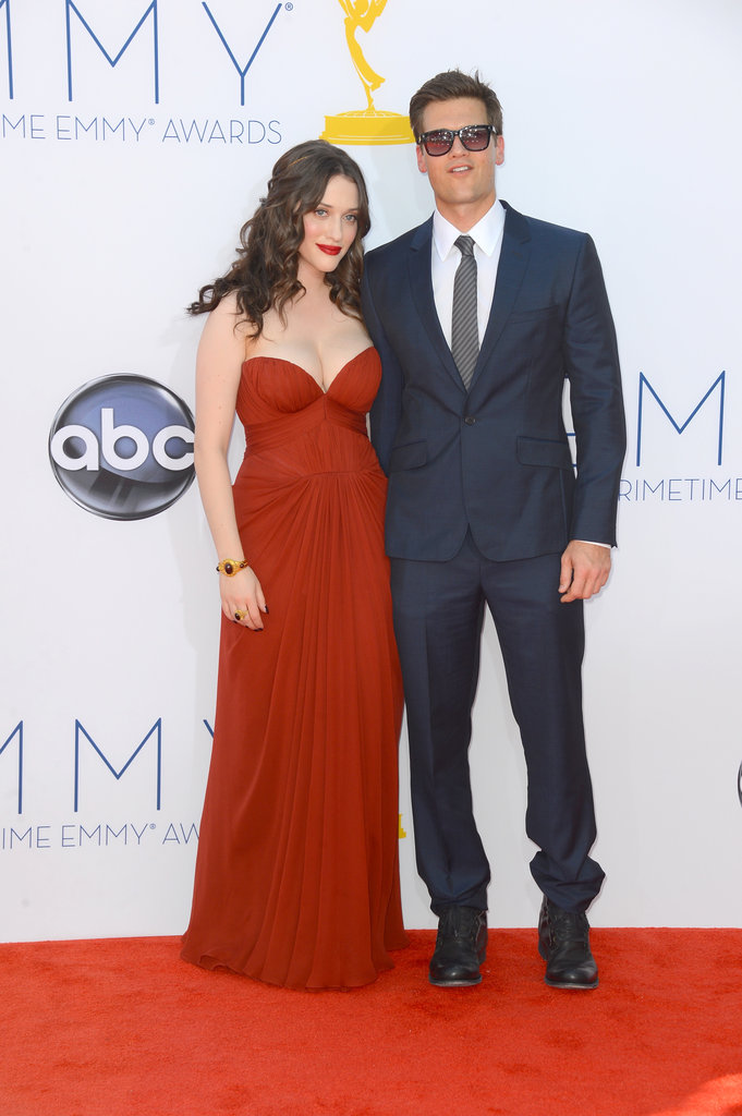 Kat Dennings and Nick Zano