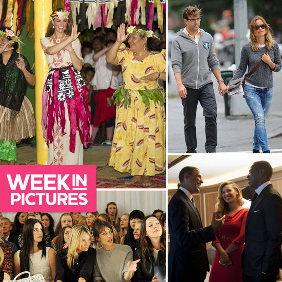 The Week In Pictures: Kim In Australia, Pink Surprises Gwen, Olivia Gets Romantic & More!
