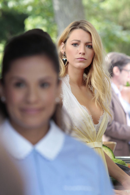 Blake Lively just got married in real life, but is Serena tying the knot as well?