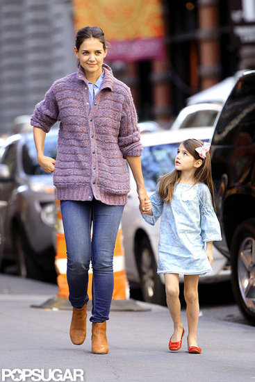 Katie and Suri Catch Up Following an Exciting Week