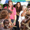 Prince William Kate Middleton With Topless Soloman Islanders