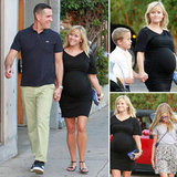 Pregnant Reese Witherspoon Dresses Up For a Family Date Night