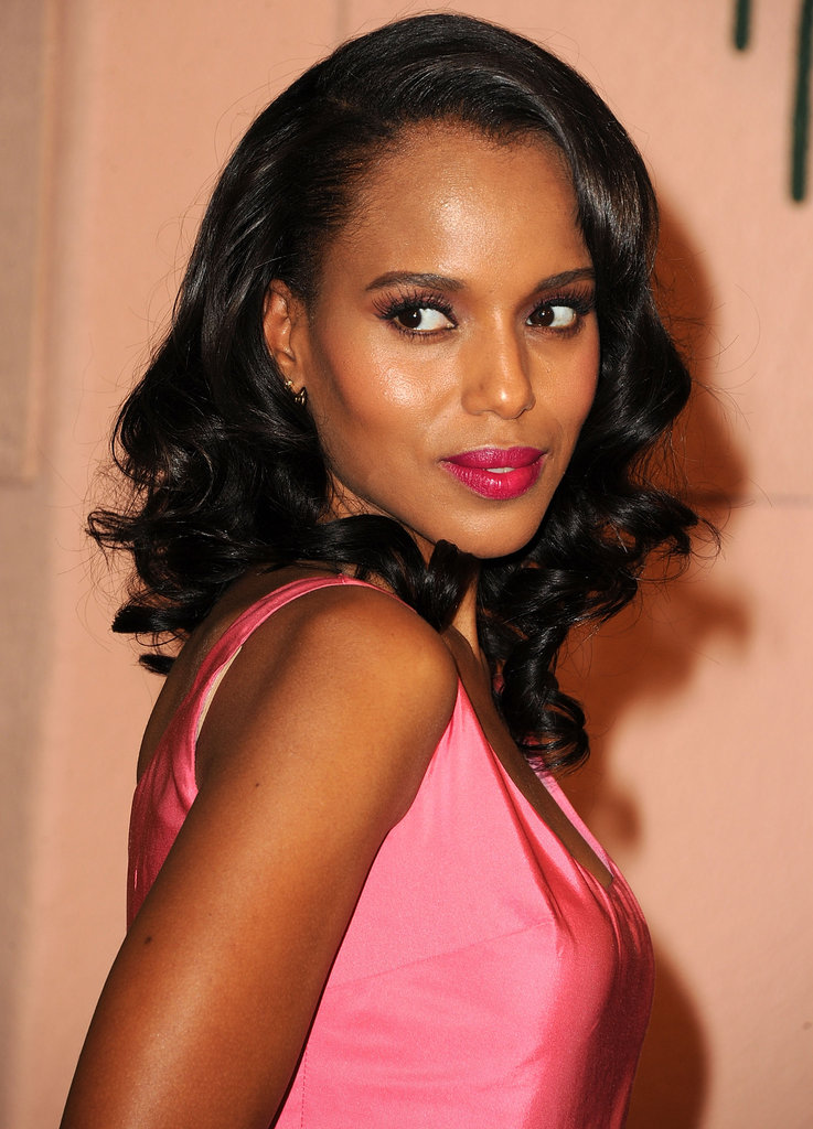 "In 2007, Kerry Washington told Feminist that she embraces the feminist label: ""I do consider myself a feminist. I mean, I love that definition, that it's the whole belief that women are human beings and deserve equal rights, equal access."""