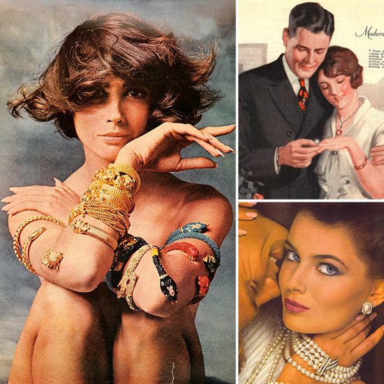 Luxurious Ladies Glam It Up in Vintage Jewelry Ads