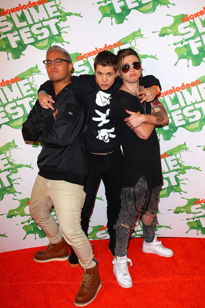 Stan Walker, Reece Mastin and Johnny Ruffo