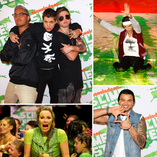 Stars Get Slimed, Share Positive Social Media Vibes and Break Records at 2012 Slimefest