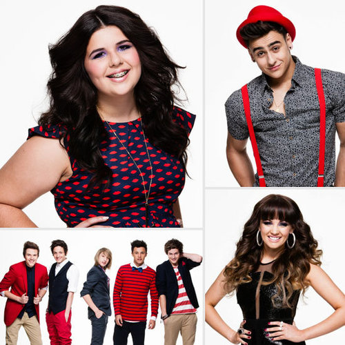The Top 12 Acts and Contestants of The X Factor Australia 2012