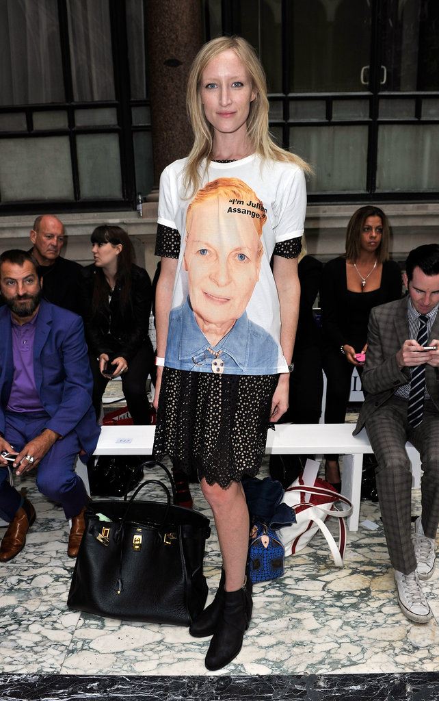 Jade Parfitt at Vivienne Westwood Red Label