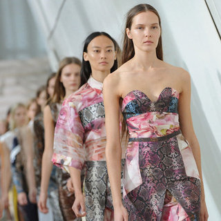 Pictures and Review of Preen Spring Summer 2013 London Fashion Week Runway Show