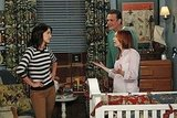 Lily and Marshall give Robin a talking-to in the season premiere of How I Met Your Mother.
