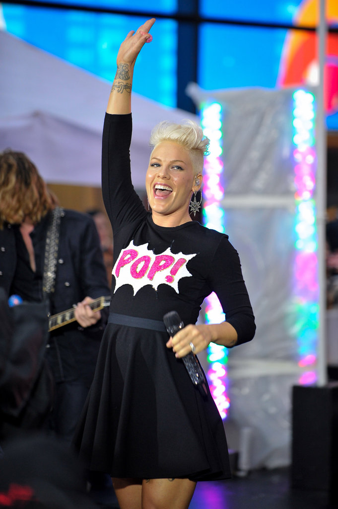 Pink performed on Today.