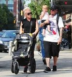 Pink and Carey Hart took Willow out in NYC.