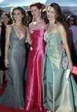 Keri Russell snapped a photo with Cynthia Nixon and Kristin Davis in 2000.
