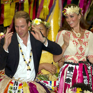 Video Footage of Kate Middleton and Prince William Dancing in Tuvalu