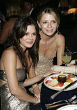 O.C. stars Rachel Bilson and Mischa Barton stuck close during a 2005 afterparty.