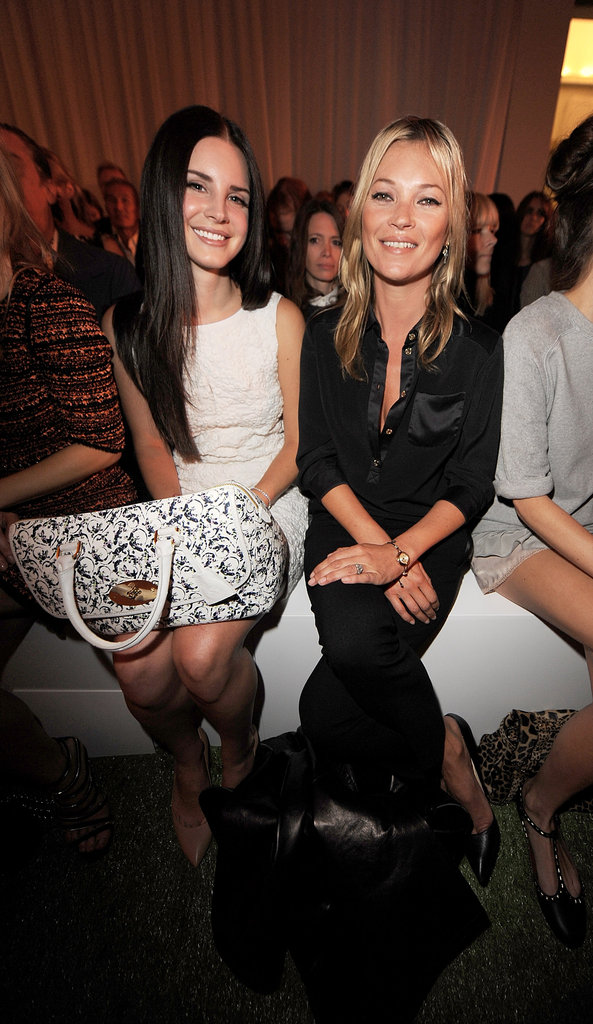 Lana Del Rey and Kate Moss checked out Mulberry.