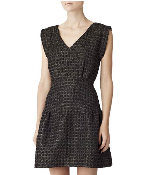 A chic office-appropriate option for the 9-5 working gal.  Reiss Tiered Dress ($360)