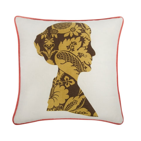 Though the silhouette in this Nelly Pillow ($100) could be almost anyone, we think it bares an uncanny resemblance to a certain magical nanny.