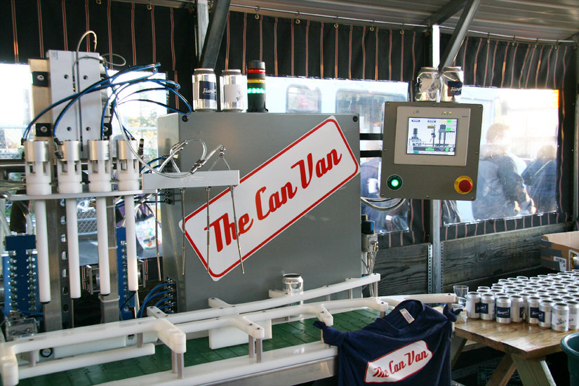 The Can Van Equipment