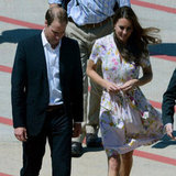 Prince William and Kate Middleton Go Back to the UK