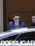Tom Cruise is in London making All You Need Is Kill.
